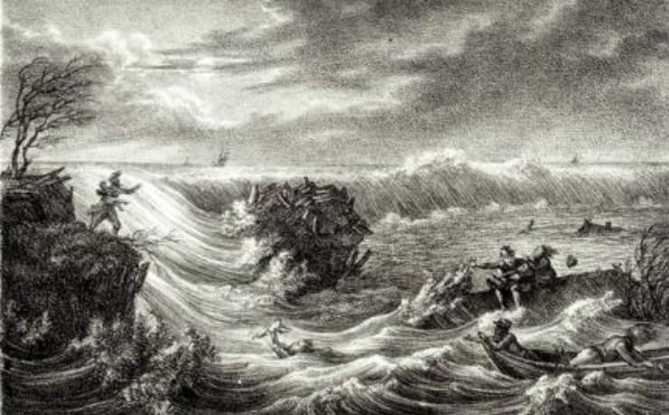 Sturmflut 1825