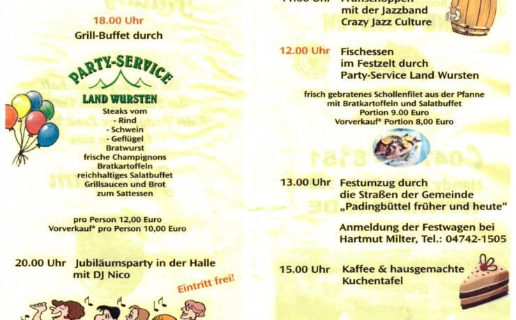 650 Jahre Padingbüttel!