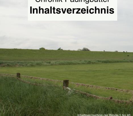 Inhaltsverzeichnis der Chronik Padingbüttel!