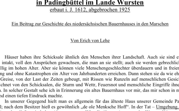 """Chronikgeschichten """"im Reinen"""""""